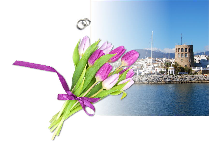 Wedding flowers in Marbella