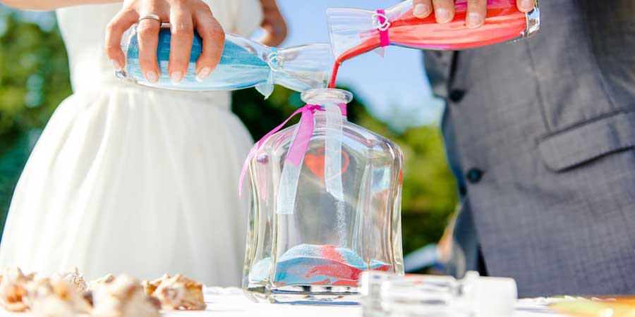 Sand Ceremony For A Romantic Wedding In Spain Marbella Wedding Guide
