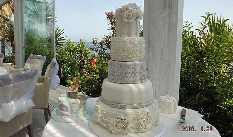 Wedding Cakes Spain by Debbie Sheridan