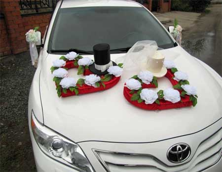 Wedding car decoration marbella wedding guide source pinterest yodigosi junglespirit