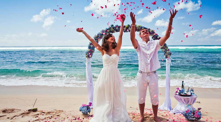 Beach Wedding In Spain Marbella